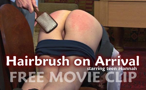 FREE HAIRBRUSH CLIP
