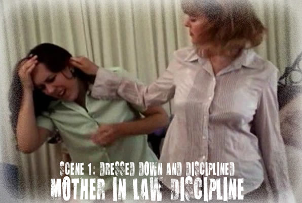 Spanked mother in law