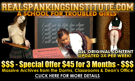 Go to Real Spankings Institute for a special offer