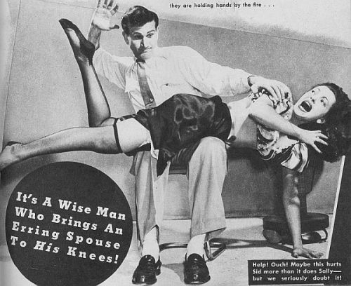 When wives get spanked: Volume 4,388