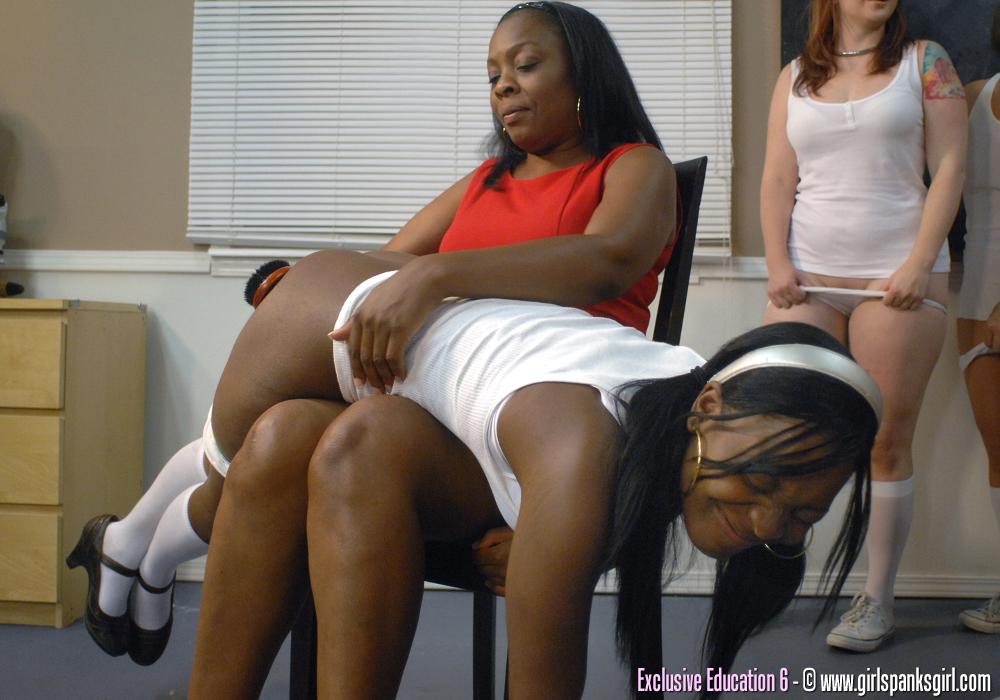 Black girls spanking