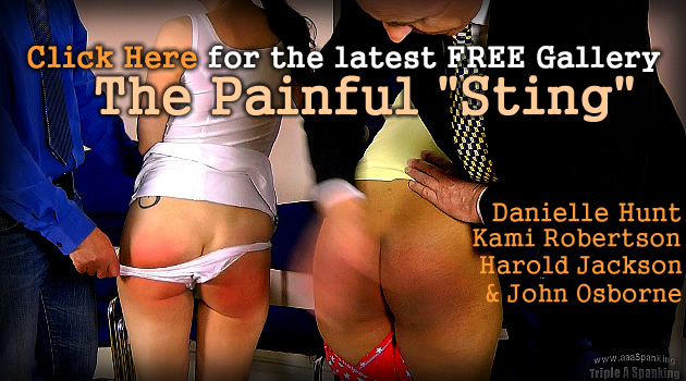 2 Film update this week at Triple A Spanking