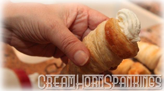 Cream Horn Spanking Special