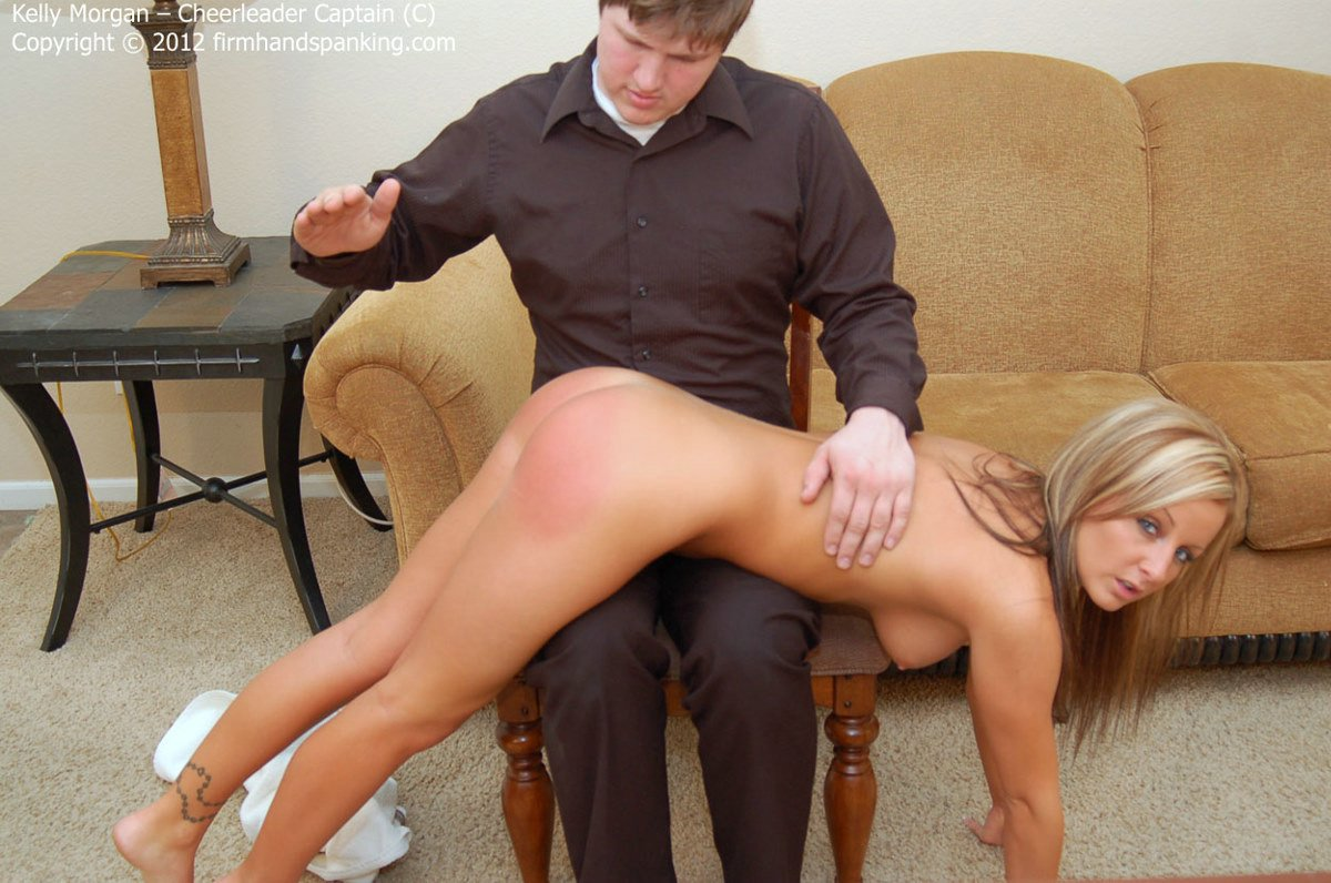 Strict caning on bare butt 1