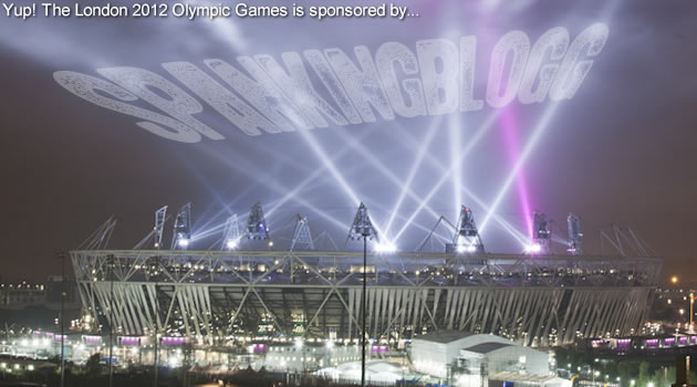 London 2012 (oh and other spanking news)