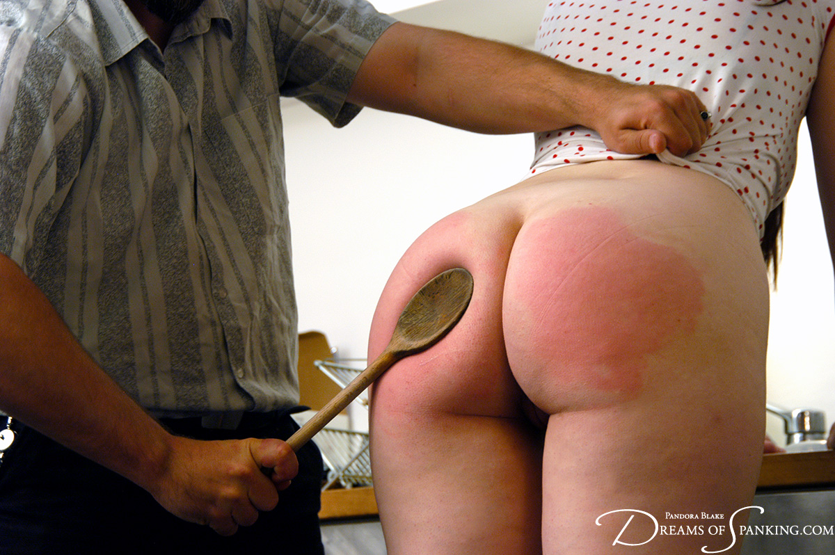 Caning my much too naughty slave
