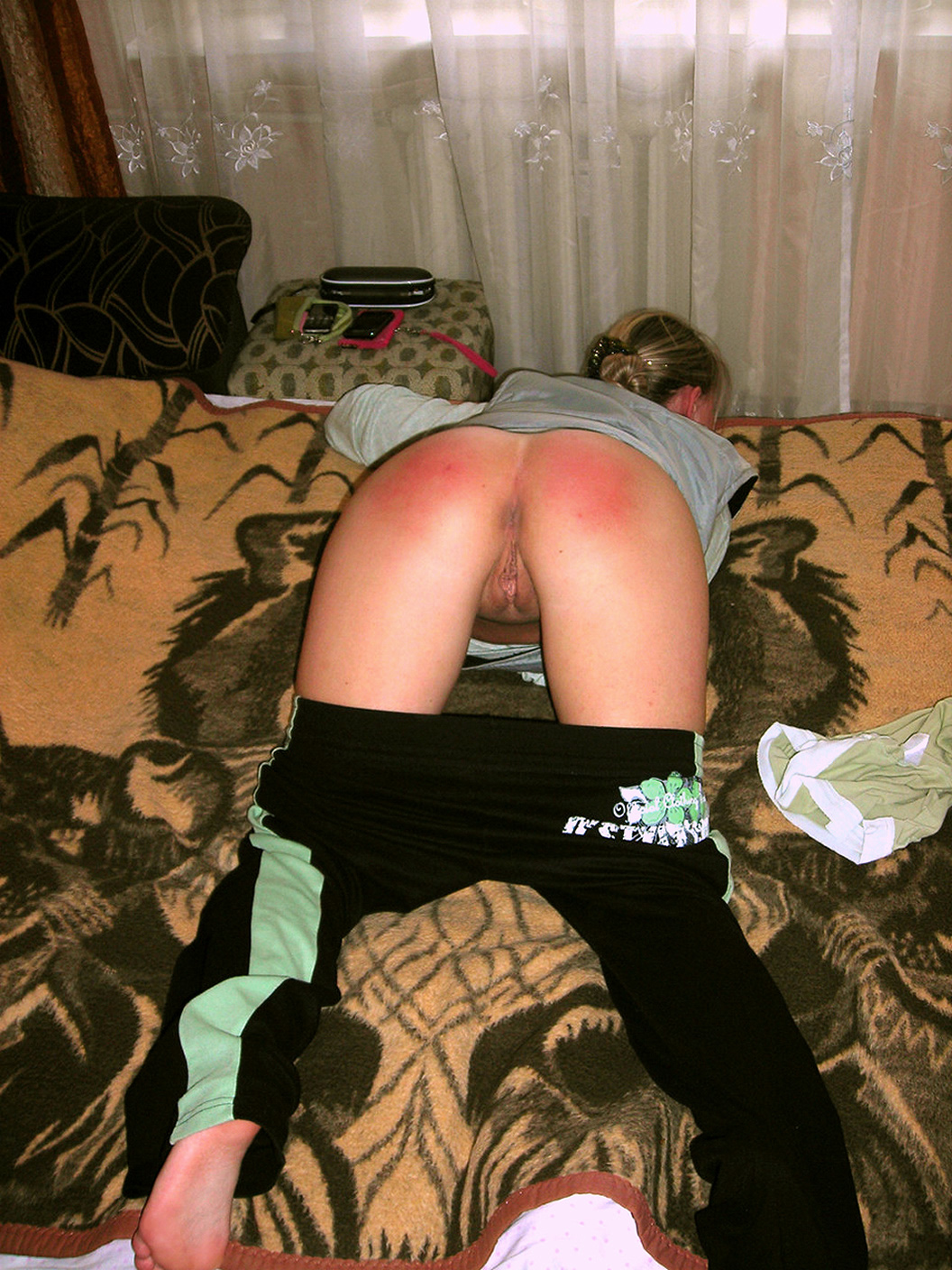 Amateur Spanked Ass #7