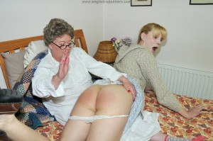 Spank grandmother story
