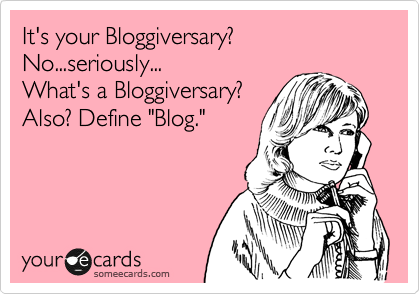 Bloggiversary Spankings!