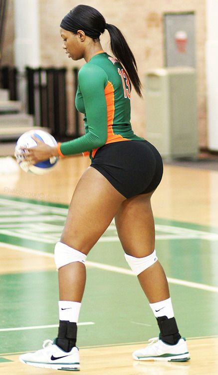Volleyball girls booty