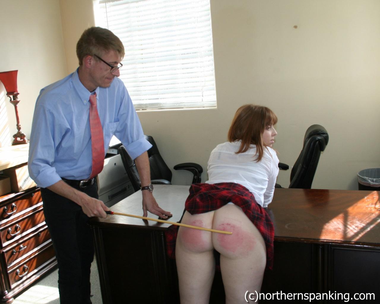 teasing spanking