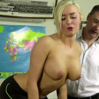 Leandra is Stripped Spanked & Caned