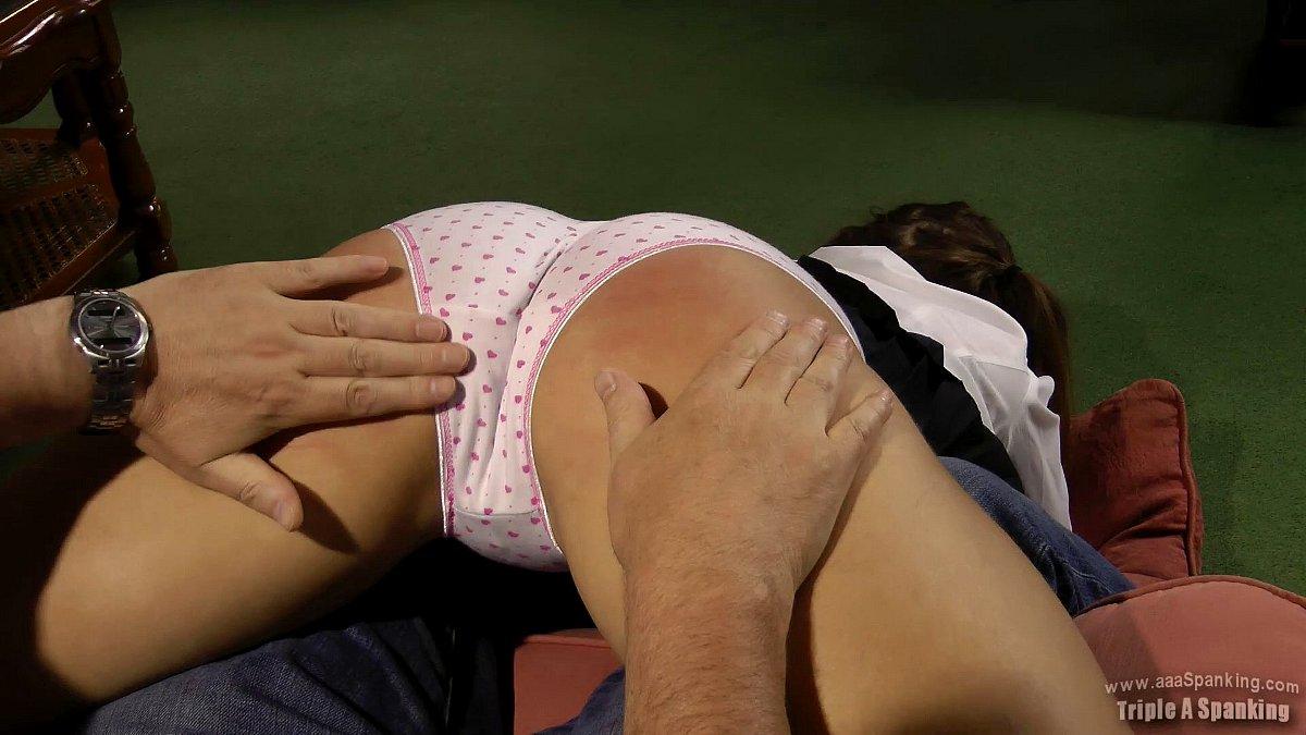 wheelbarrow spanking