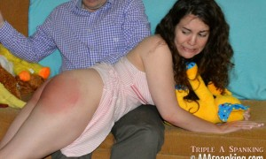 Ageplay Spankings at AAA