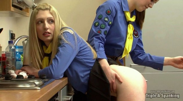 Girl Guide Spankings