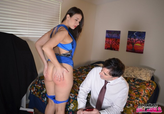inspecting the cost of a hard spanking