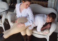 End of Weekend Spanking Fun