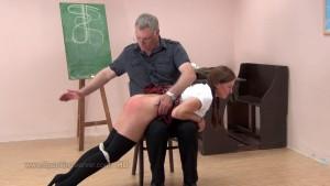 OTK spanking