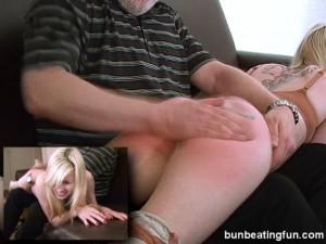 hard hand spanking