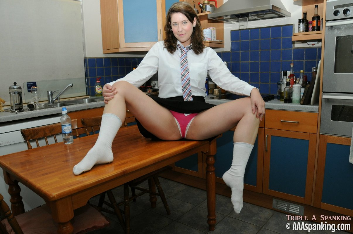 school girl pissing Katie the schoolgirl temptress