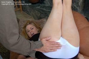 Video in men position spanked diaper