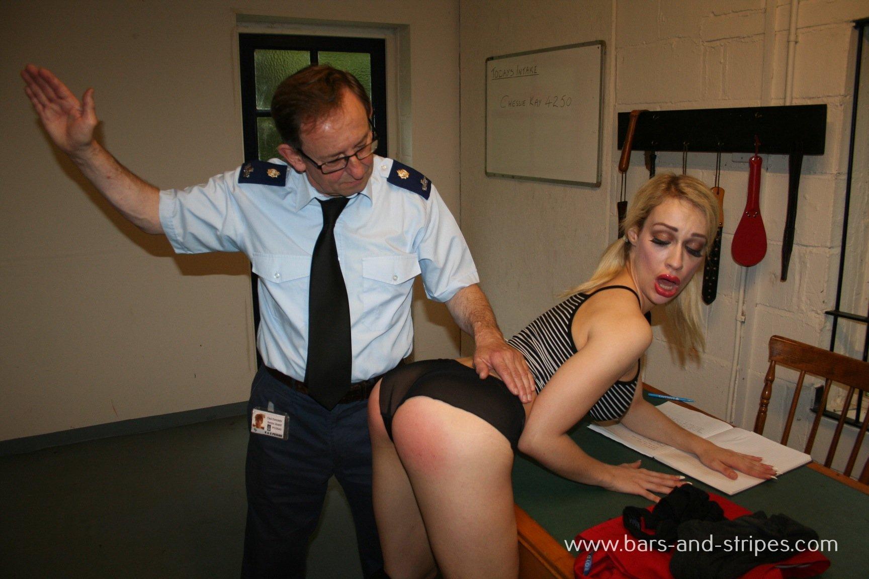 inmates girl spanking - ... inmate spanking ...