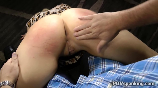 Whitney Morgan Wheelbarrow spanking
