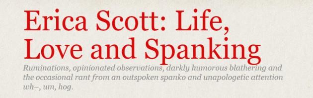 erica scott: life love and spanking