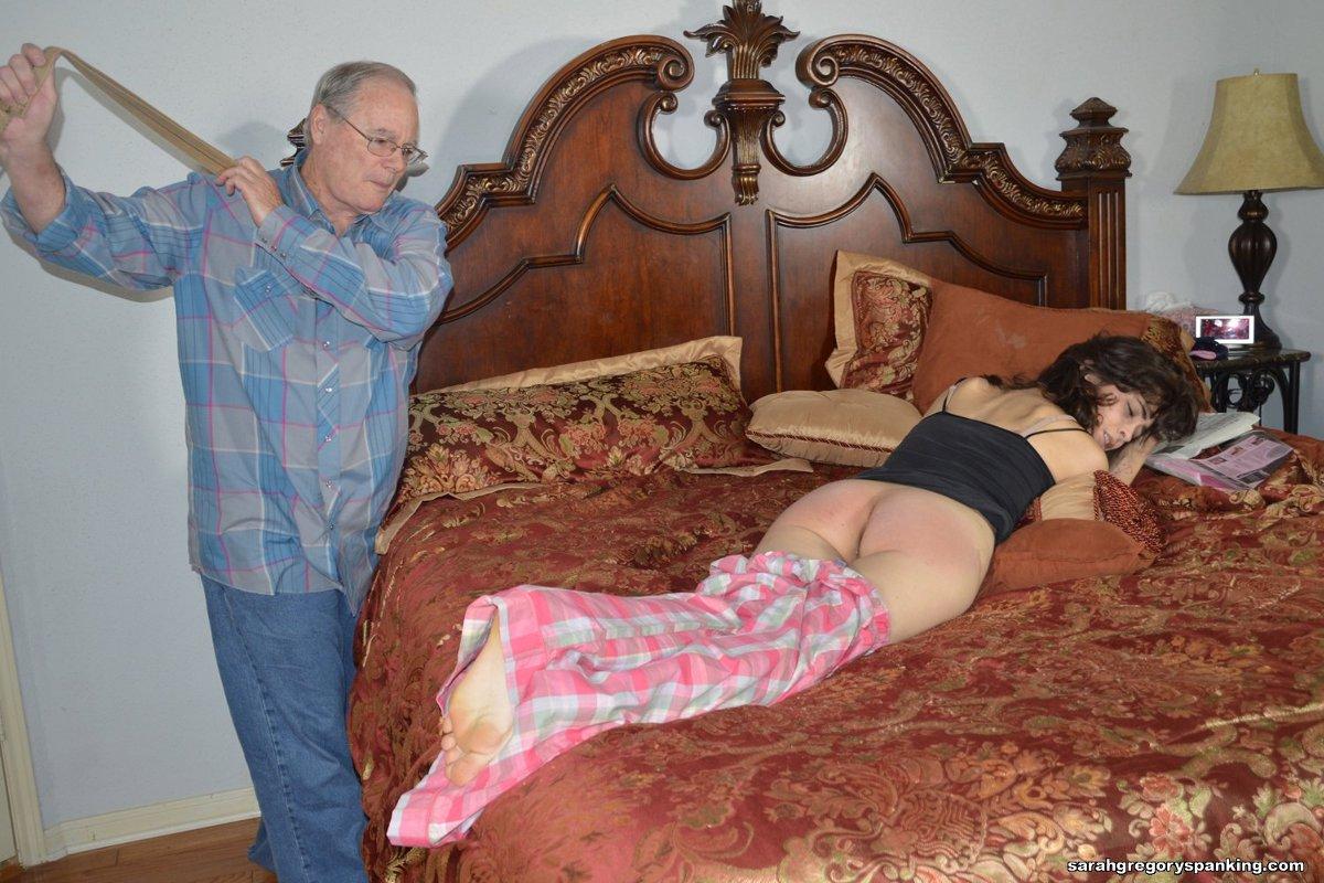 Grandpa spank story