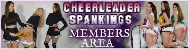 cheerleader members area spanking