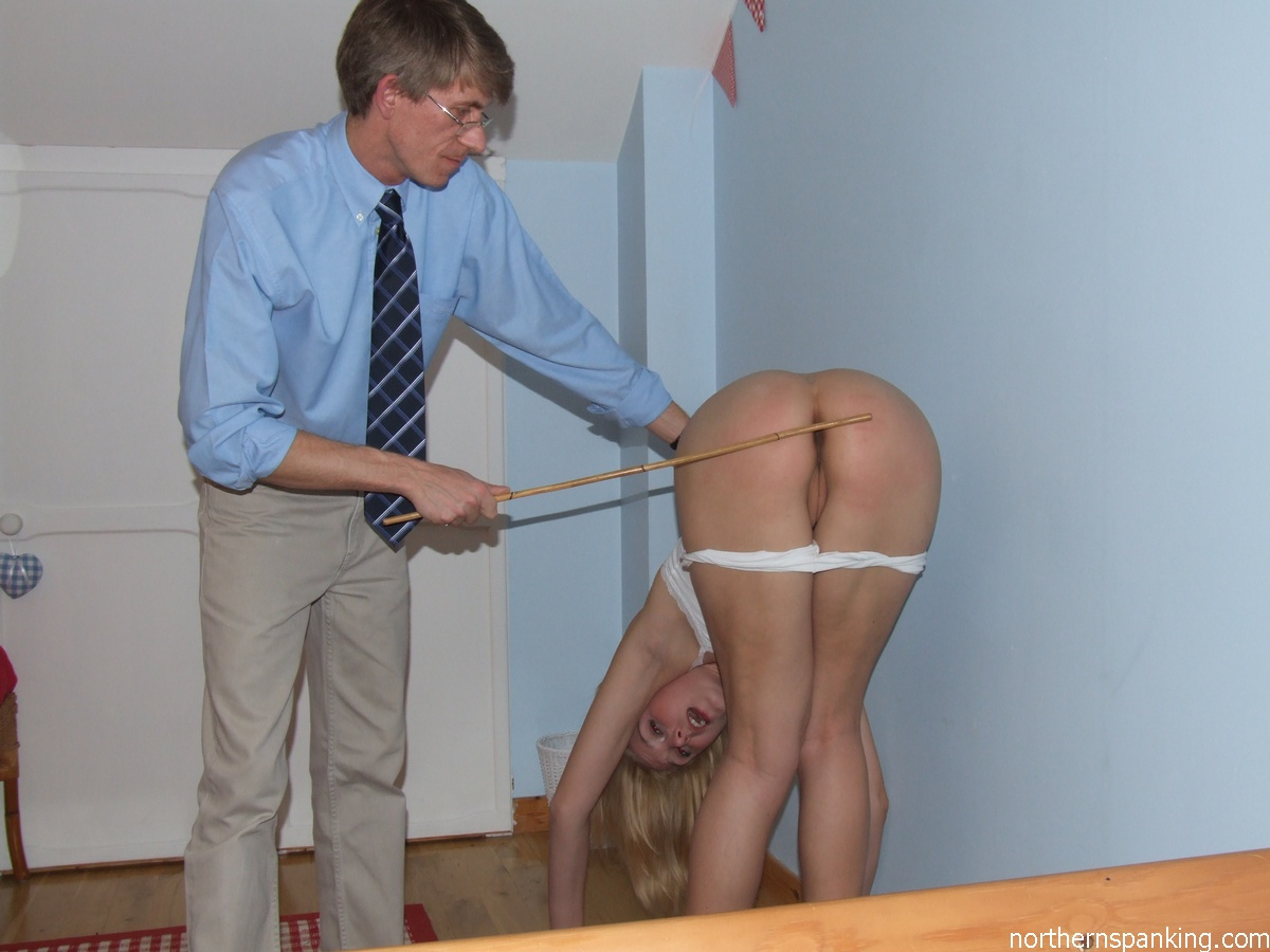 A spanking for being rude 4