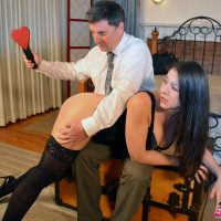 Sarah the Callgirl Spanked Again!