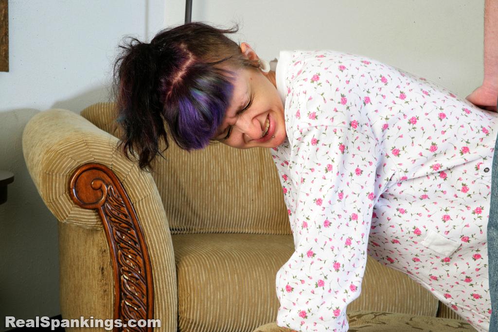 M pajamas spank