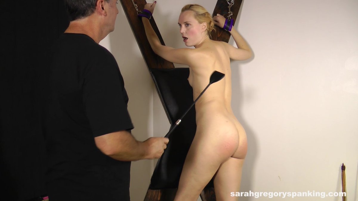 She s being grabbed to get spanked not