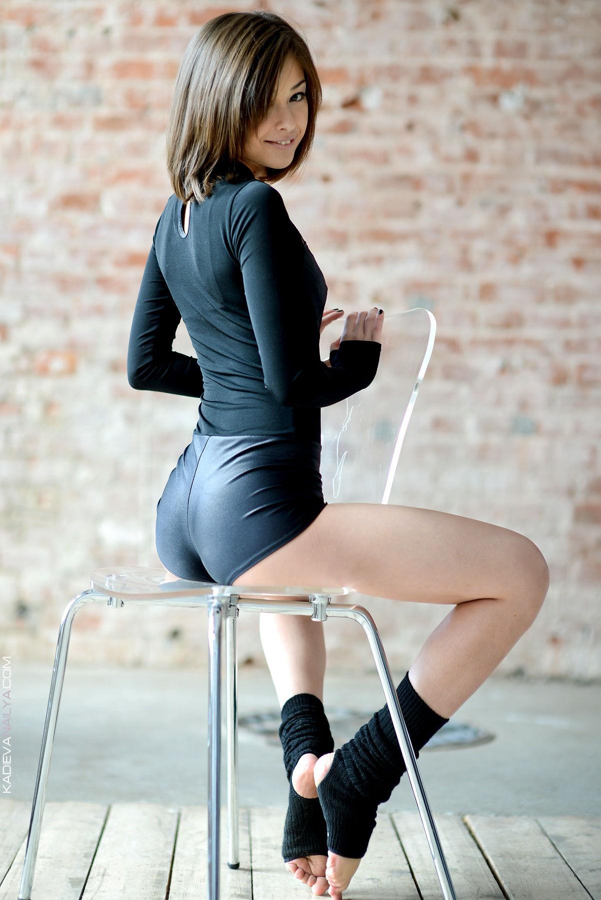 cute lycra shortts ass