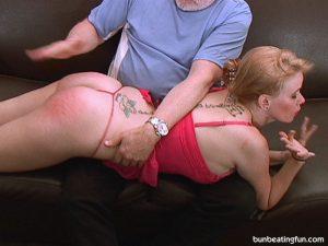 slut shamed spanking