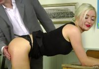 young stepmom spanking