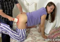 Shameful Daughter Spanking Punishment