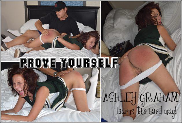 cheerleader gets a spanking