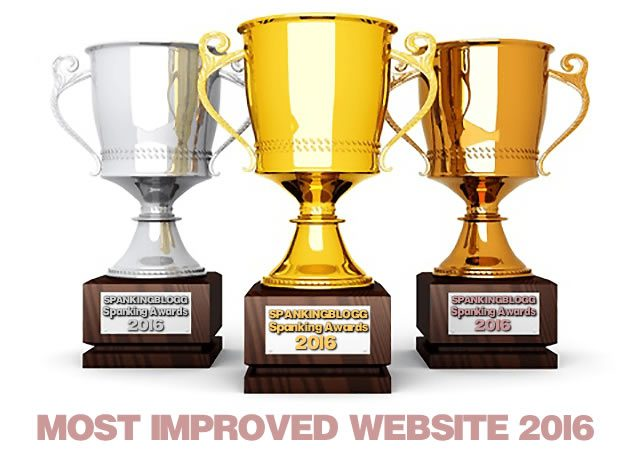 Spanking Awards - Most Improved Site 2016