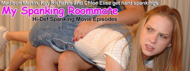 My spanking roommate