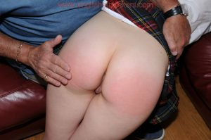 round bare bottom spanking