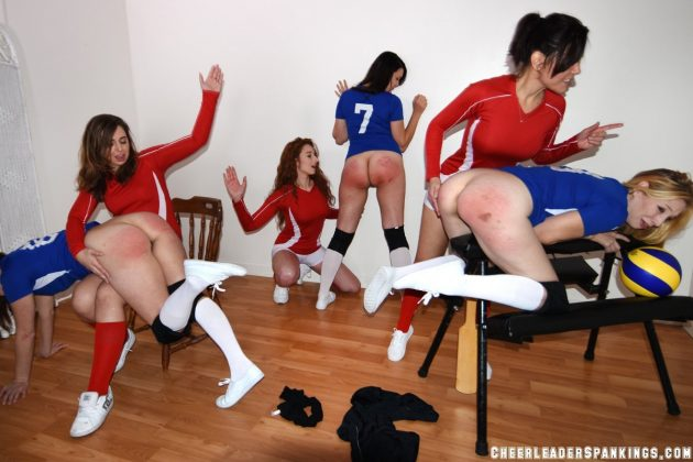 spanking hot volleyball girls