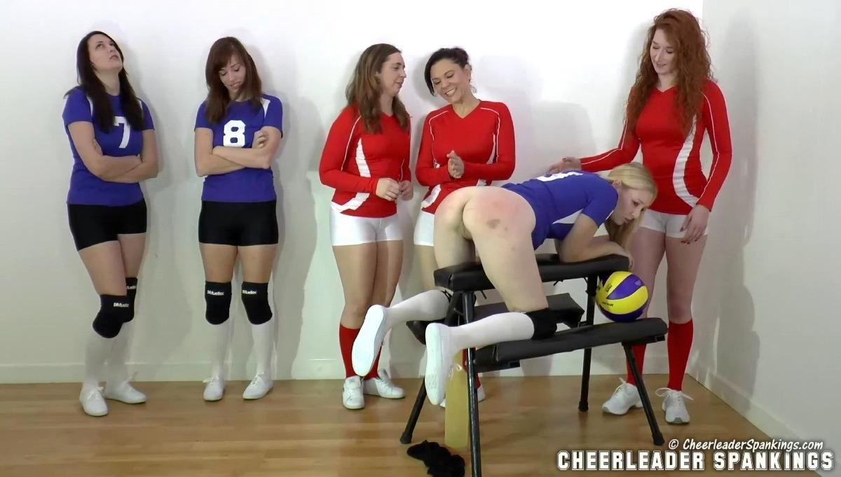 Dump volleyball ass