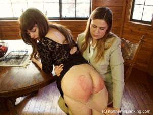 knickers down spanking