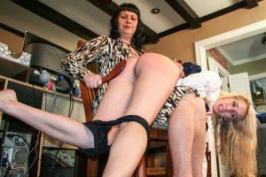 long legs otk spanking