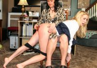 Cadence Lux spanked hard