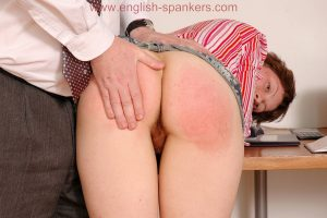 natural girl spanked by hand