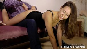 wheelbarrow spanking