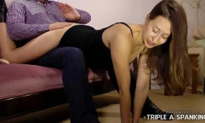 Joelle Barros gets a Wheelbarrow Spanking